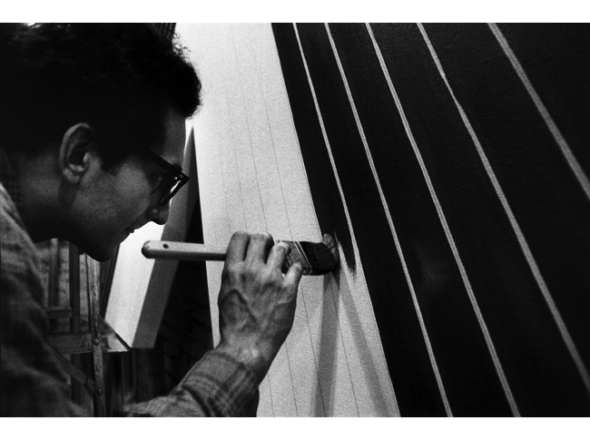 Frank Stella: Black Paintings