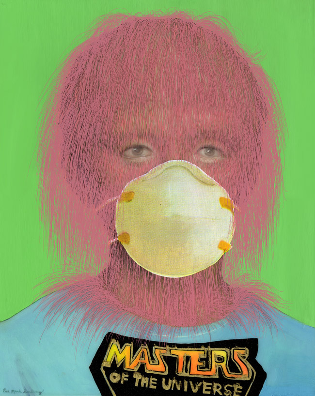 Erik Mark Sandberg: Youth with Particulate Mask