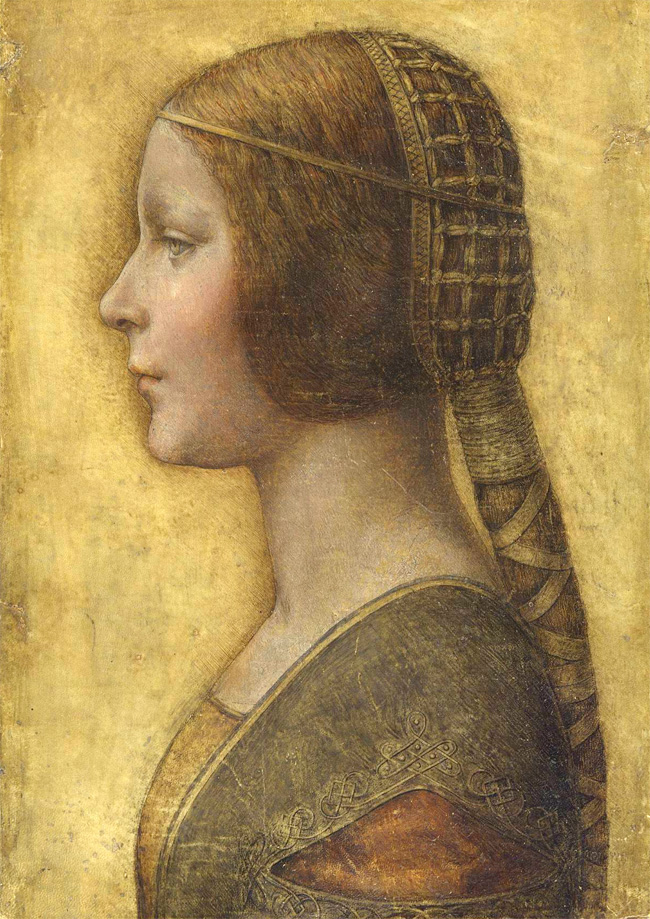Leonardo Da Vinci: Profile of A Young Fiancee