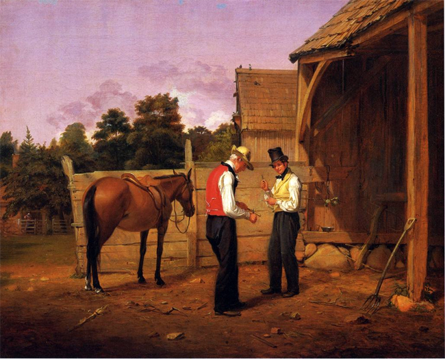 William Sidney Mount: Bargaining for A Horse