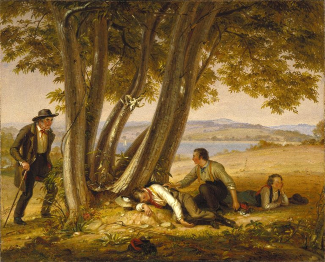 William Sidney Mount: Caught Napping