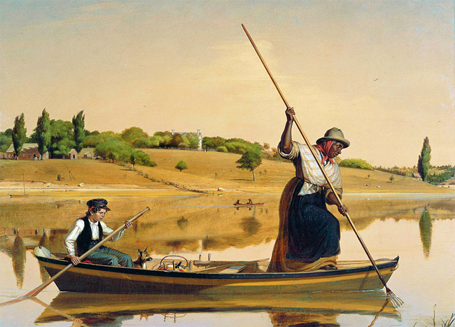 William Sidney Mount: Eel Spearing at Setauket